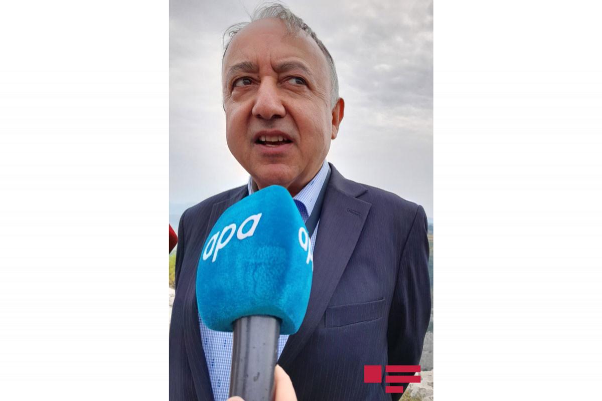 """Səfir: """"Şuşadakı valehedici görüntü çox möhtəşəmdir"""""""