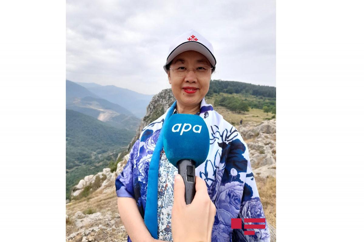 """Chinese Ambassador: """"I wish Azerbaijan and Shusha peace, stability and prosperity"""