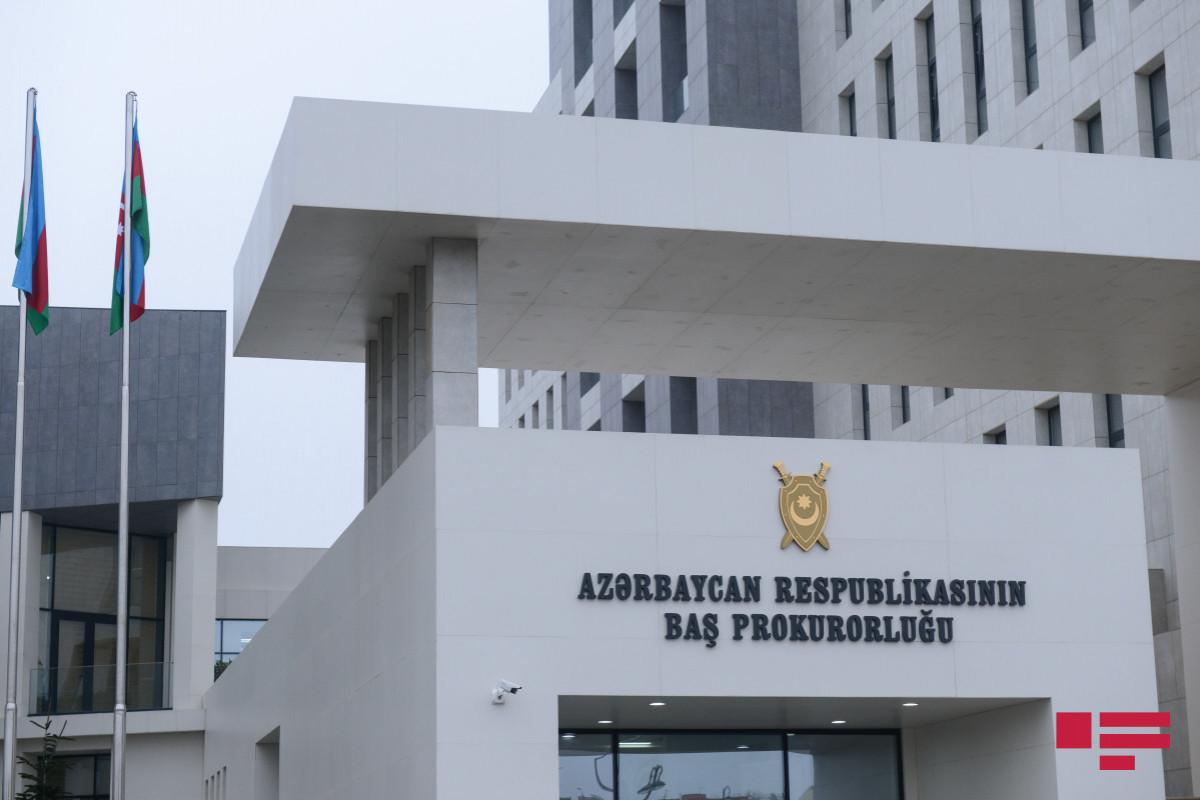 По факту самоубийства полицейского в Баку возбуждено уголовное дело