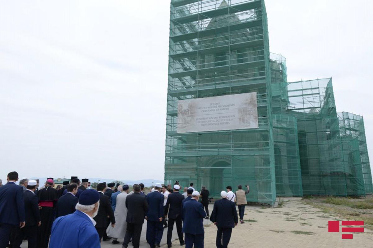 Руководители религиозных конфессий Азербайджана посетили церковь Газанчи в Шуше