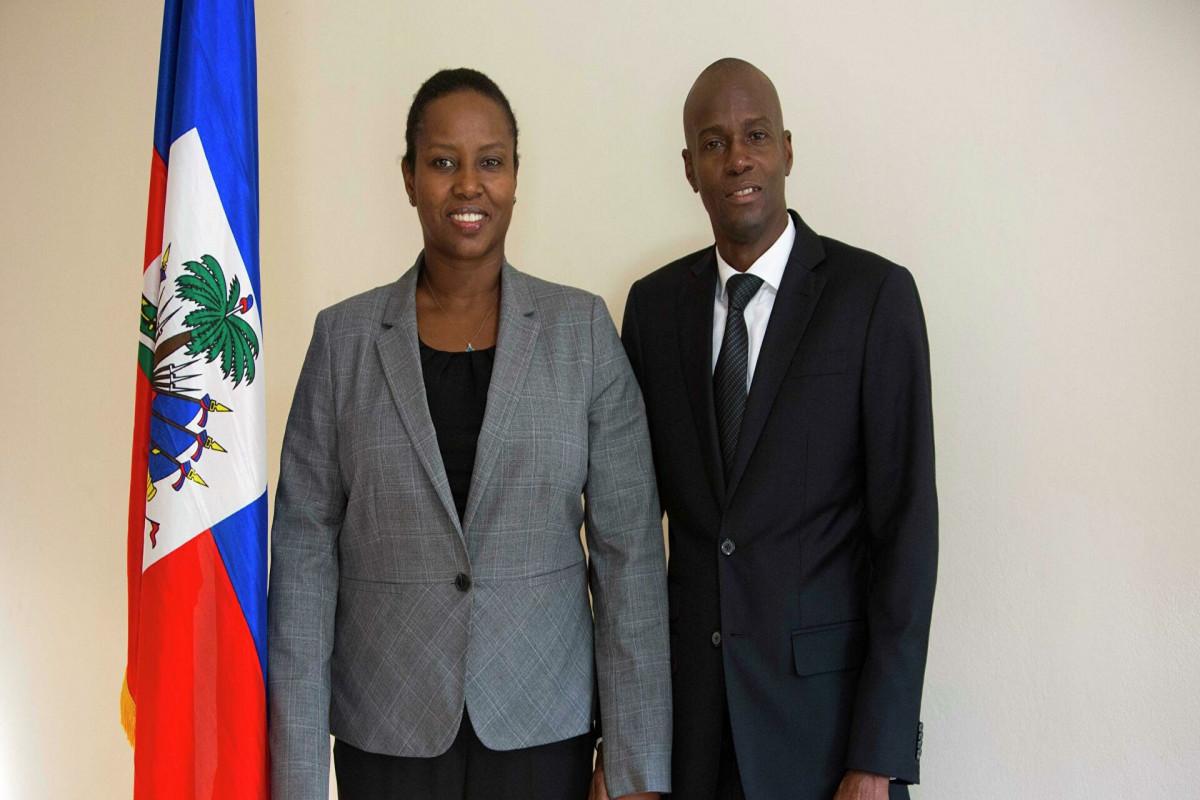 Вдова президента Гаити сделала первое заявление после убийства супруга