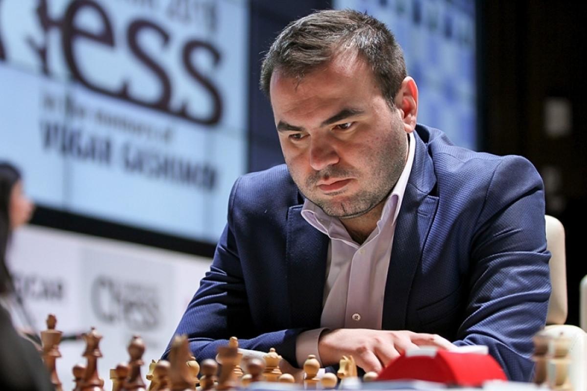 "Шахрияр Мамедъяров победил Гарри Каспарова в «Grand Chess Tour»-<span class=""red_color"">ОБНОВЛЕНО-<span class=""red_color"">ВИДЕО"