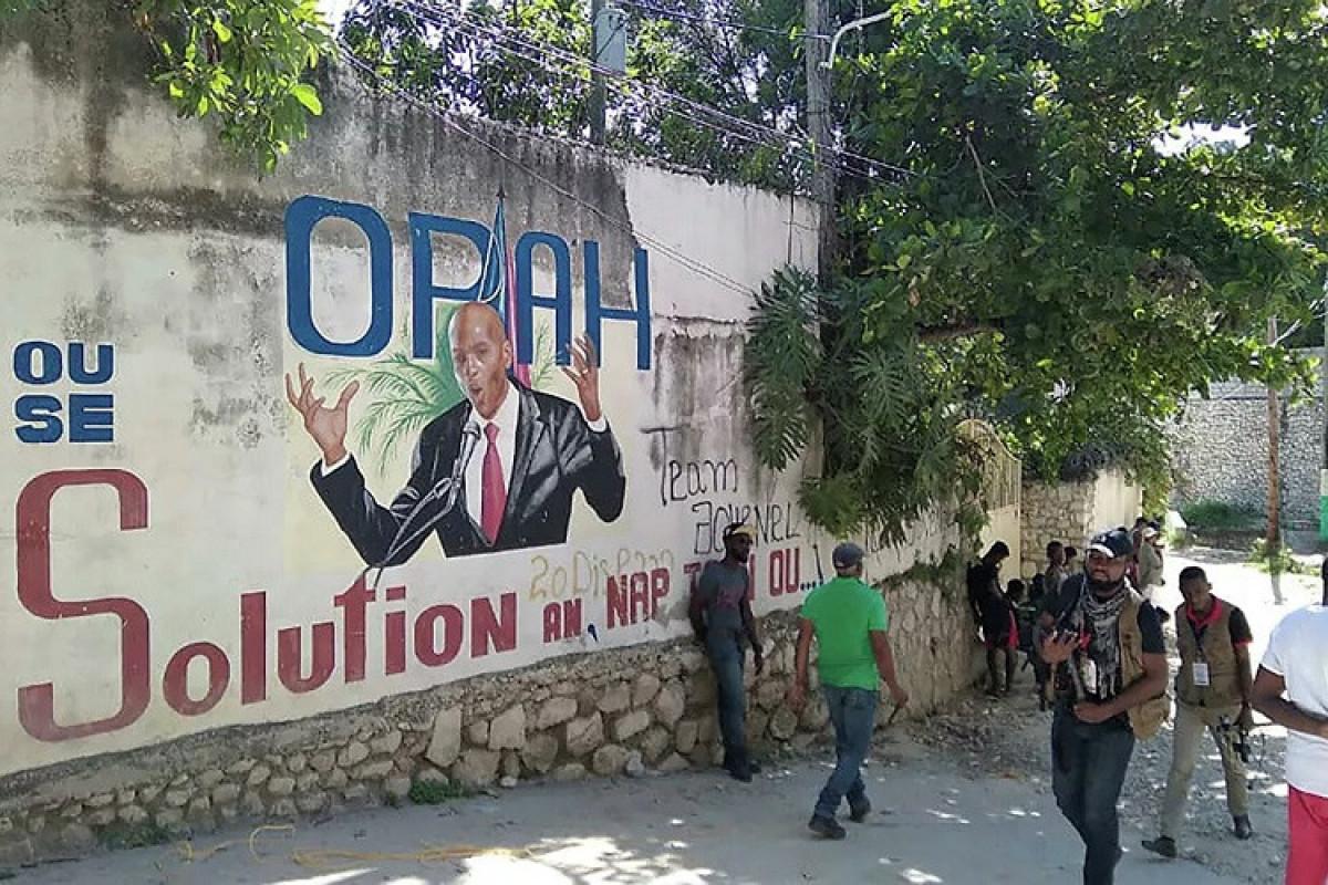 Haiti prezidentinin təhlükəsizlik xidmətinin rəisi sui-qəsddən 1,5 ay əvvəl Kolumbiyaya baş çəkib