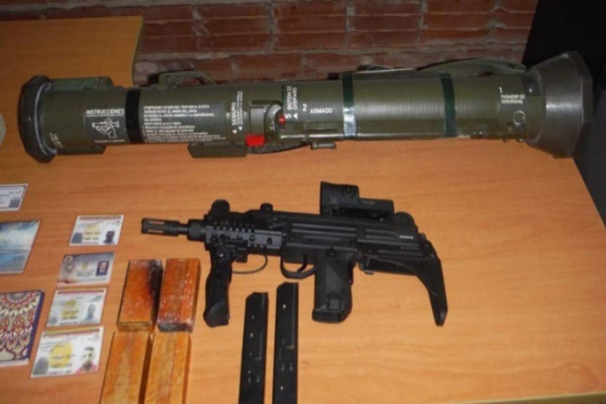 Venesuelada ABŞ və Kolumbiya silahları ilə silahlanmış 3 döyüşçü saxlanılıb