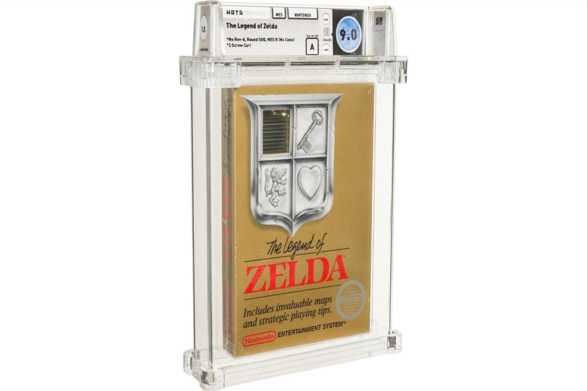 Копию компьютерной игры «The Legend of Zelda» продали за $870 000