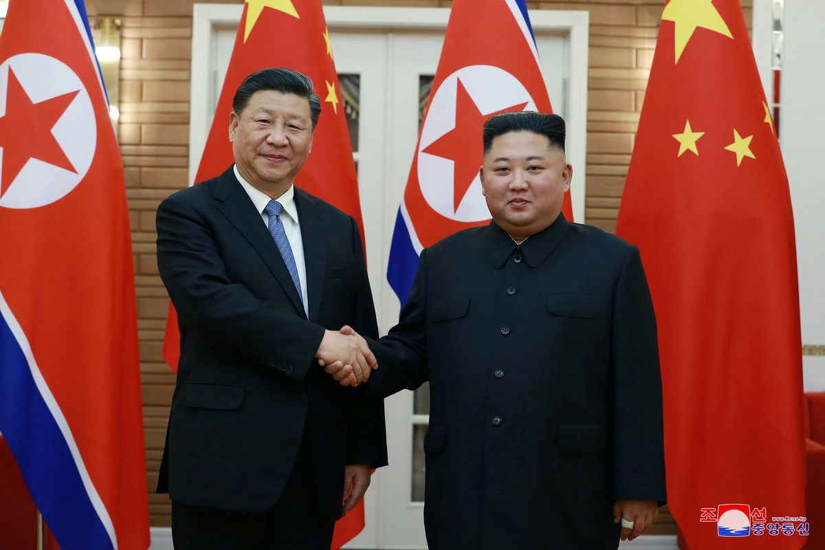 Leaders of N.Korea, China vow greater cooperation in face of foreign hostility -KCNA