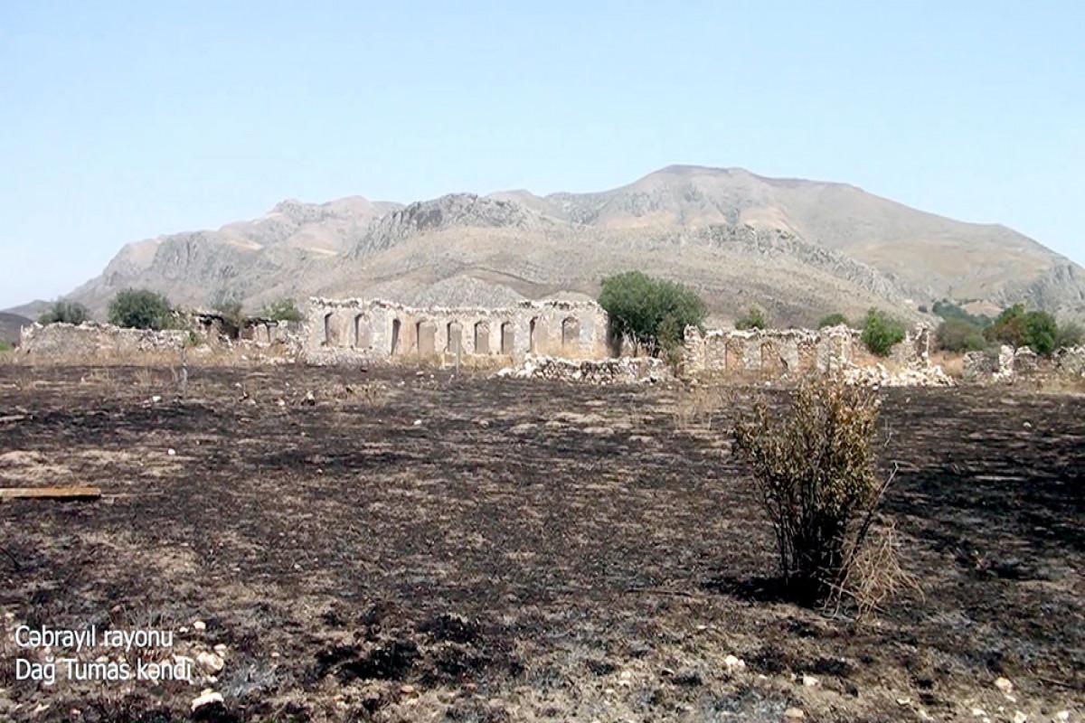 Cəbrayıl rayonunun Dağ Tumas kəndi - VİDEO