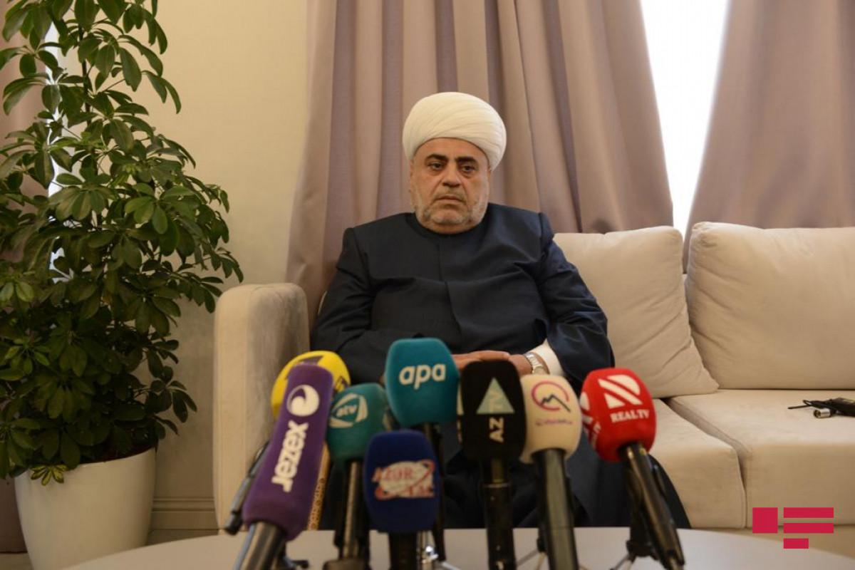 """Şeyxülislam: """"Torpaqlarımız işğaldan azad ediləndən sonra II Qaregin görüş üçün bir neçə dəfə bizə müraciət edib"""""""