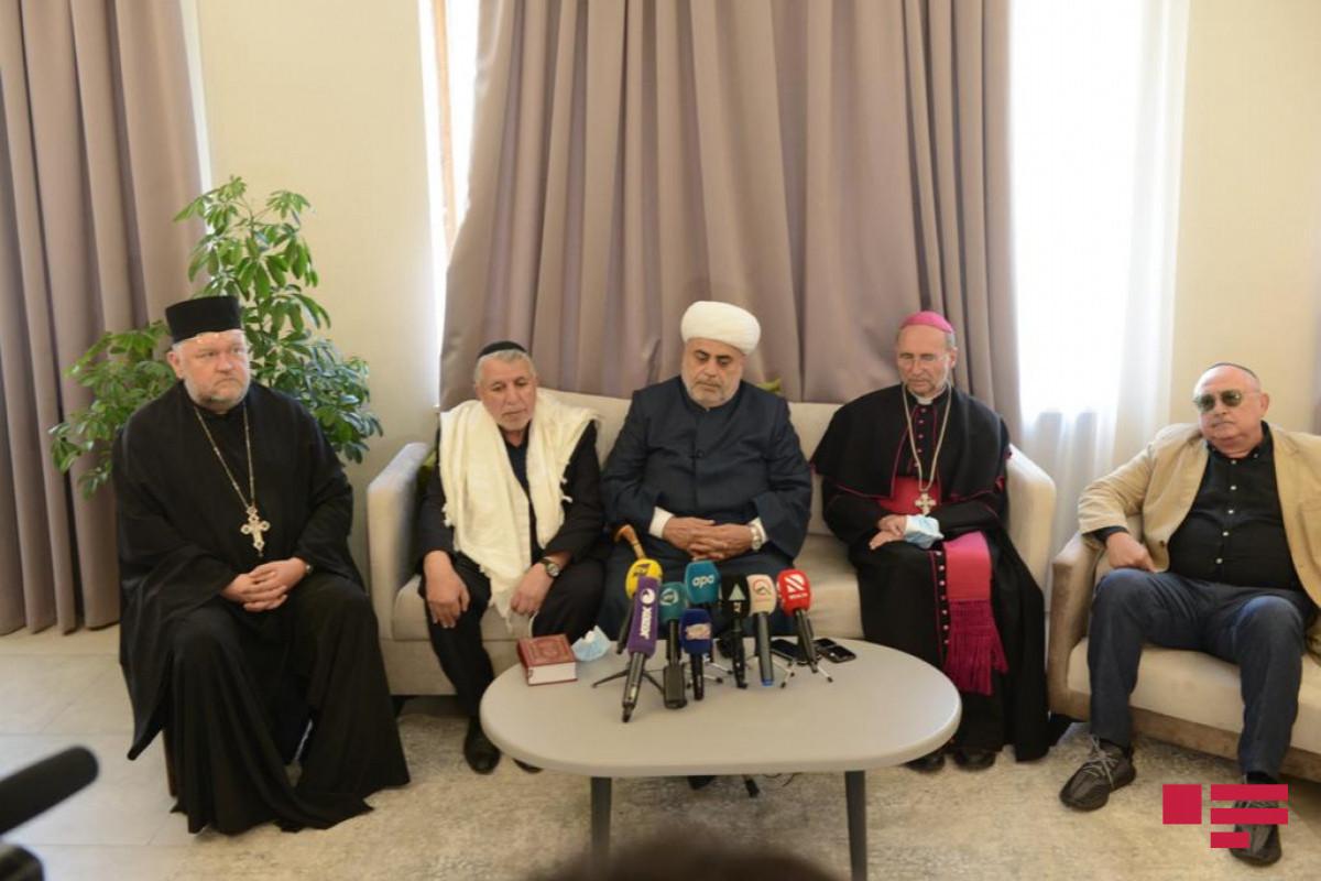Председатель УМК: Мы вместе с религиозными деятелями других конфессий помолились в церкви, мечети в Шуше, мы одержали победу благодаря этому единству