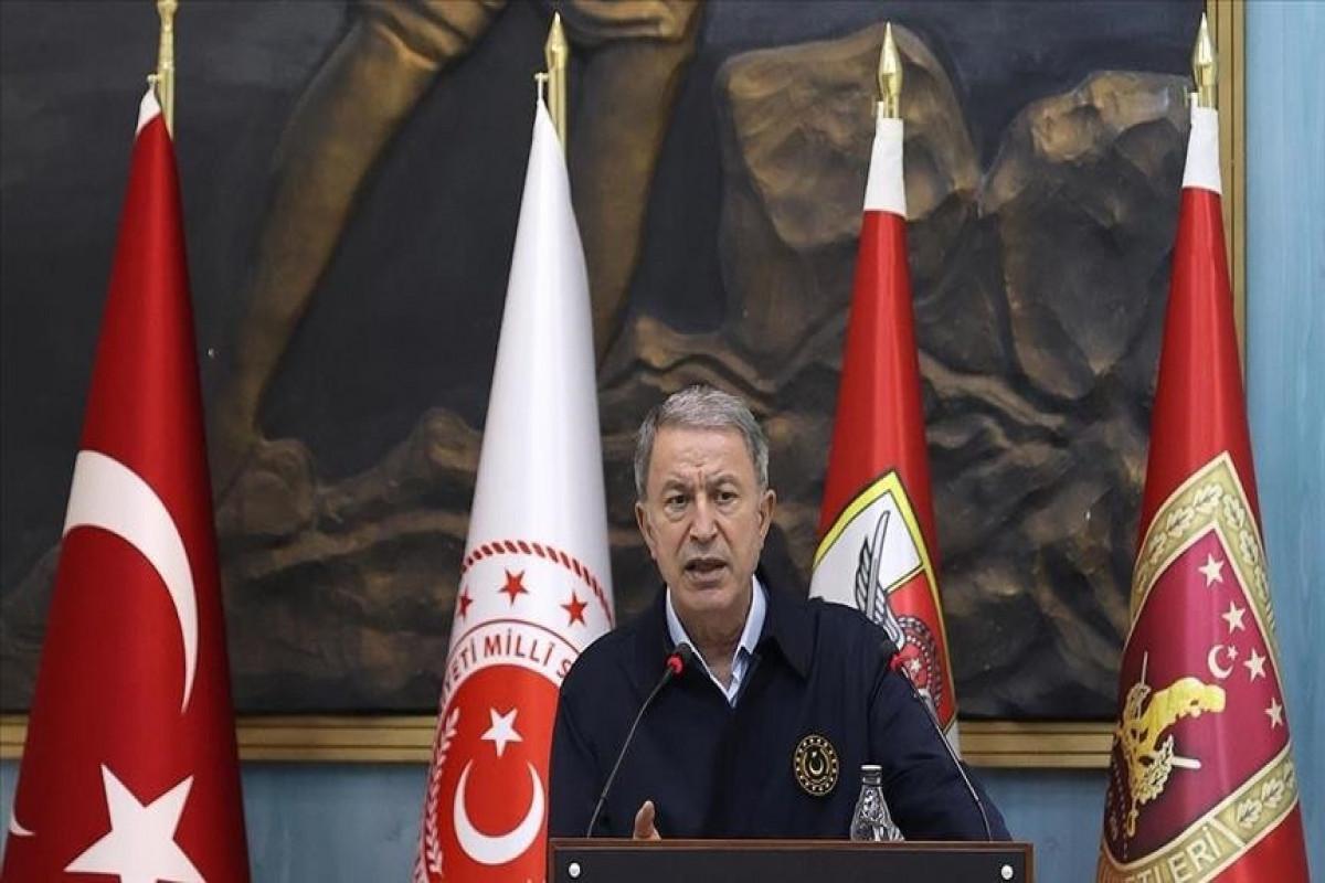 Turkish defense minister slams Greek counterpart