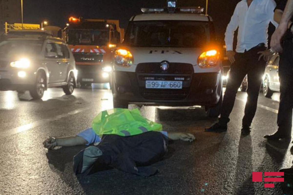 Bakıda piyadanı avtomobil vuraraq öldürüb - FOTO  - VİDEO  - YENİLƏNİB