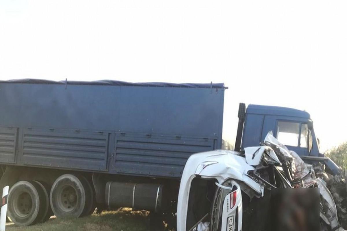 Three killed, nine more injured in road accident in Krasnodar territory