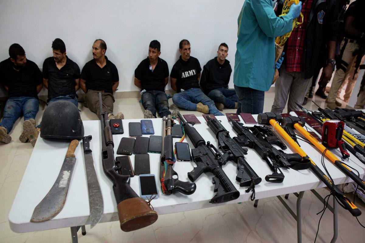 Подозреваемые в расстреле президента Гаити заявили, что не собирались его убивать
