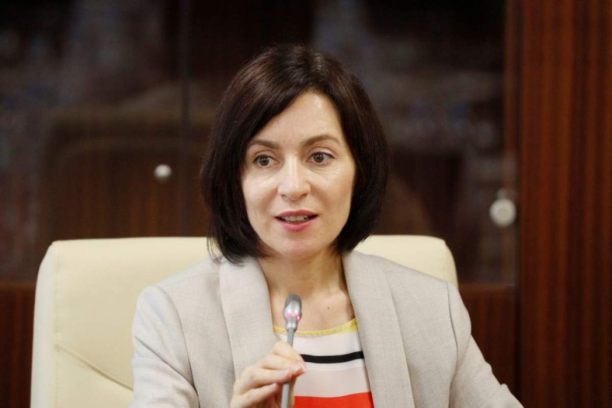 Moldovan President Maya Sandu