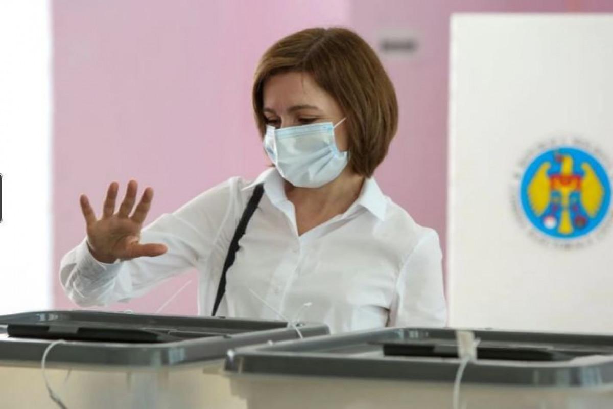 В Молдове на парламентских выборах победила партия президента Майи Санду