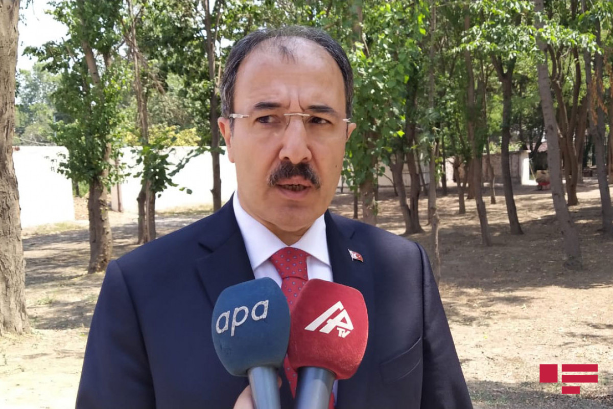 """Turkish Ambassador: """"Armenians destroyed occupied territories, insulted cultural heritage, Islam, religious values"""""""