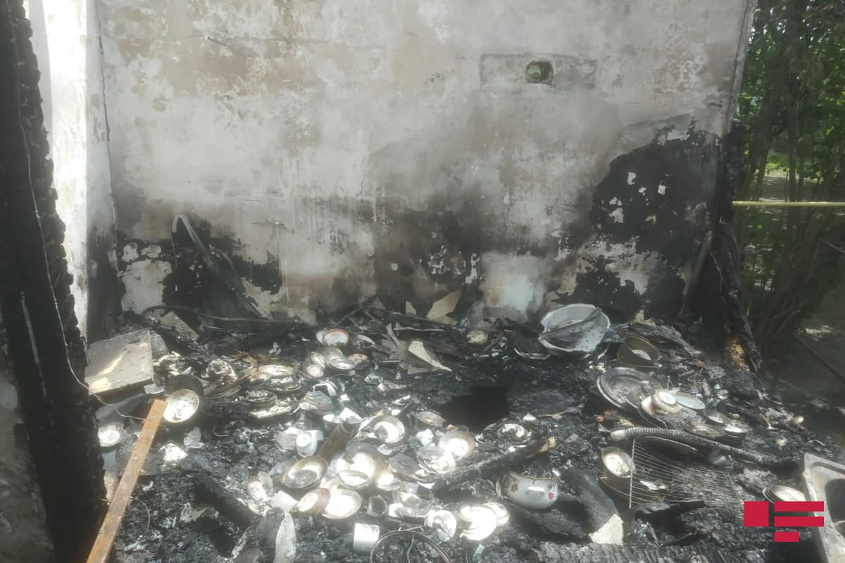 Abşeronda kişini qətlə yetirib, daha sonra evini yandırıblar - VİDEO  - YENİLƏNİB