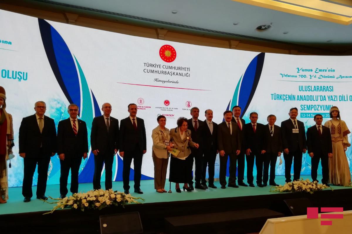 Türkiyədə beynəlxalq türkcəyə həsr olunmiş simpozium keçirilir - FOTO
