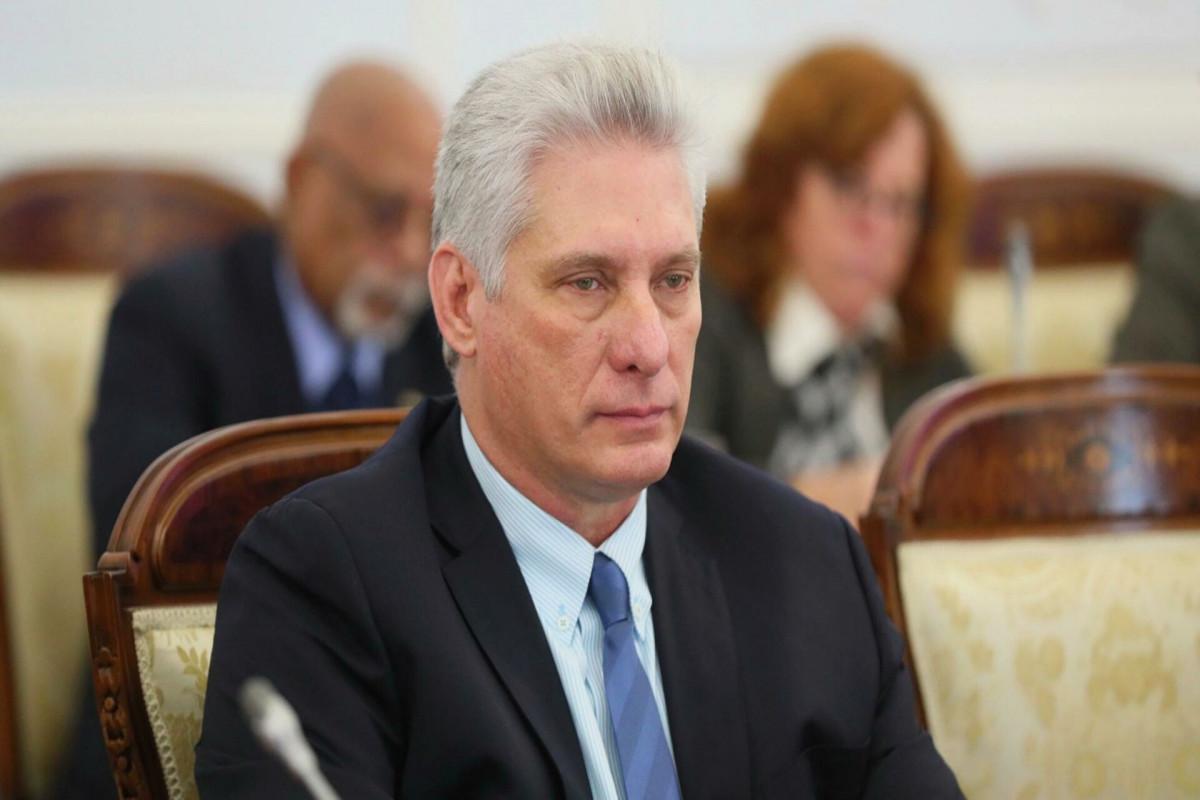 Президент Кубы заявил, что власти не считают характер протестов в стране мирным