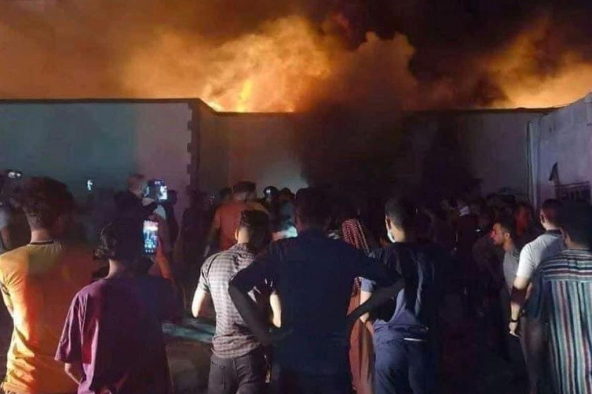 В Ираке число жертв пожара в больнице возросло до 90 -ВИДЕО -ОБНОВЛЕНО-2