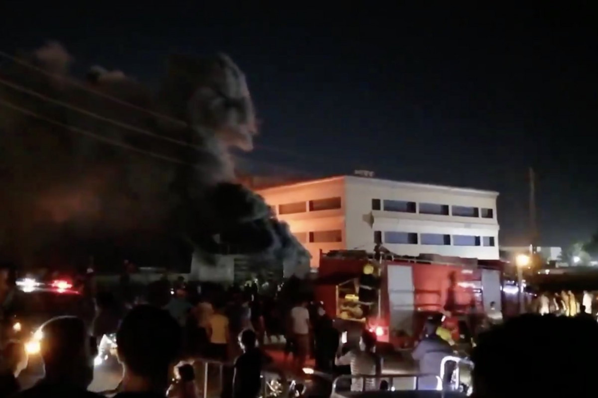 Fire death toll at coronavirus ward in Iraq to 90 -VIDEO -UPDATED-3