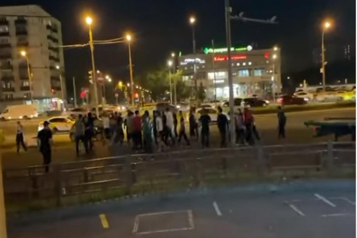 В Москве произошламассоваядракамигрантов-ВИДЕО