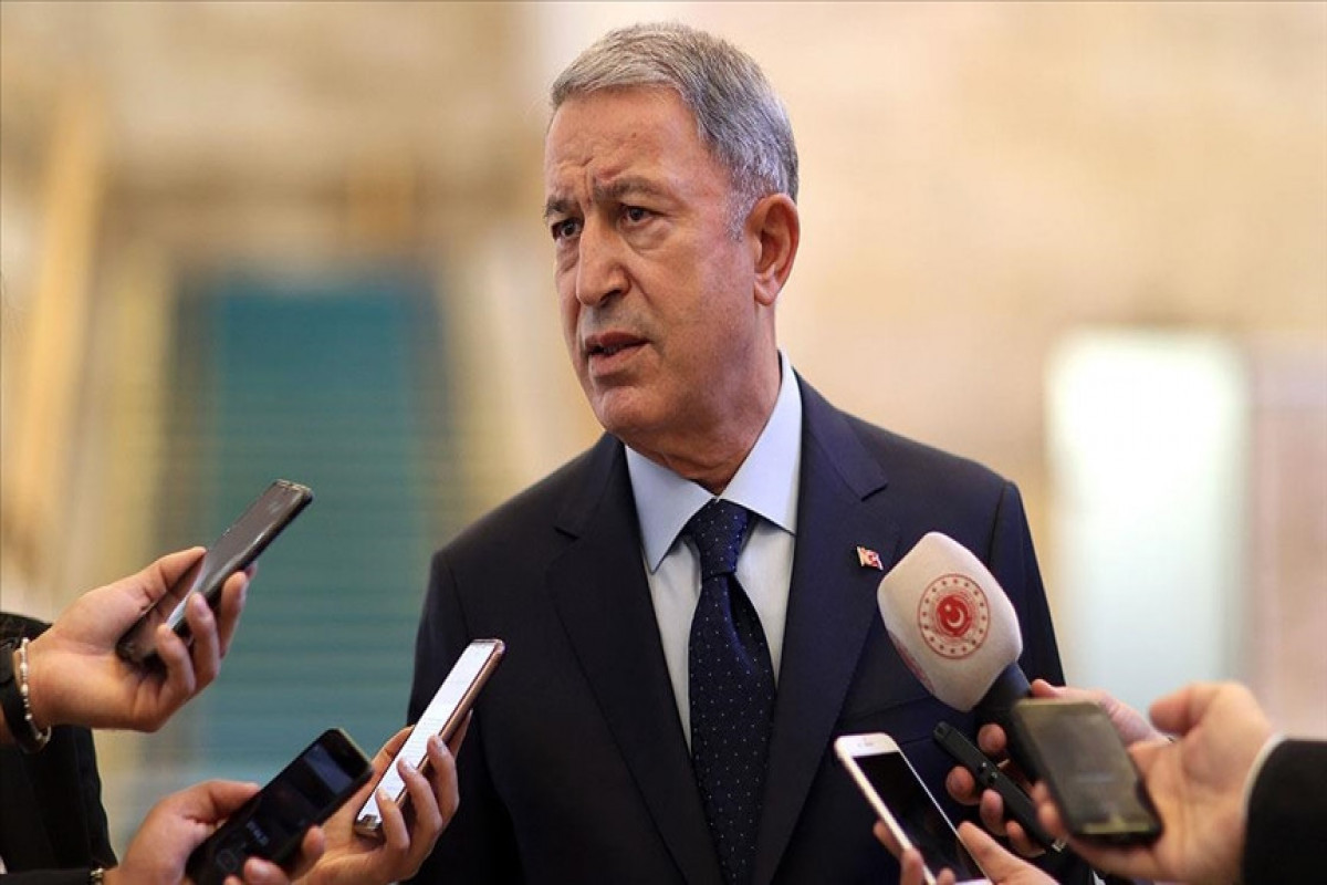 """Turkish Defense Minister: """"We closely follow what is happening in Afghanistan"""""""