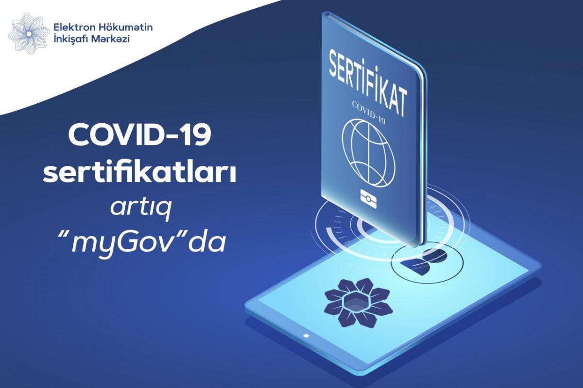 Сертификаты COVID-19 интегрированы в «myGov»