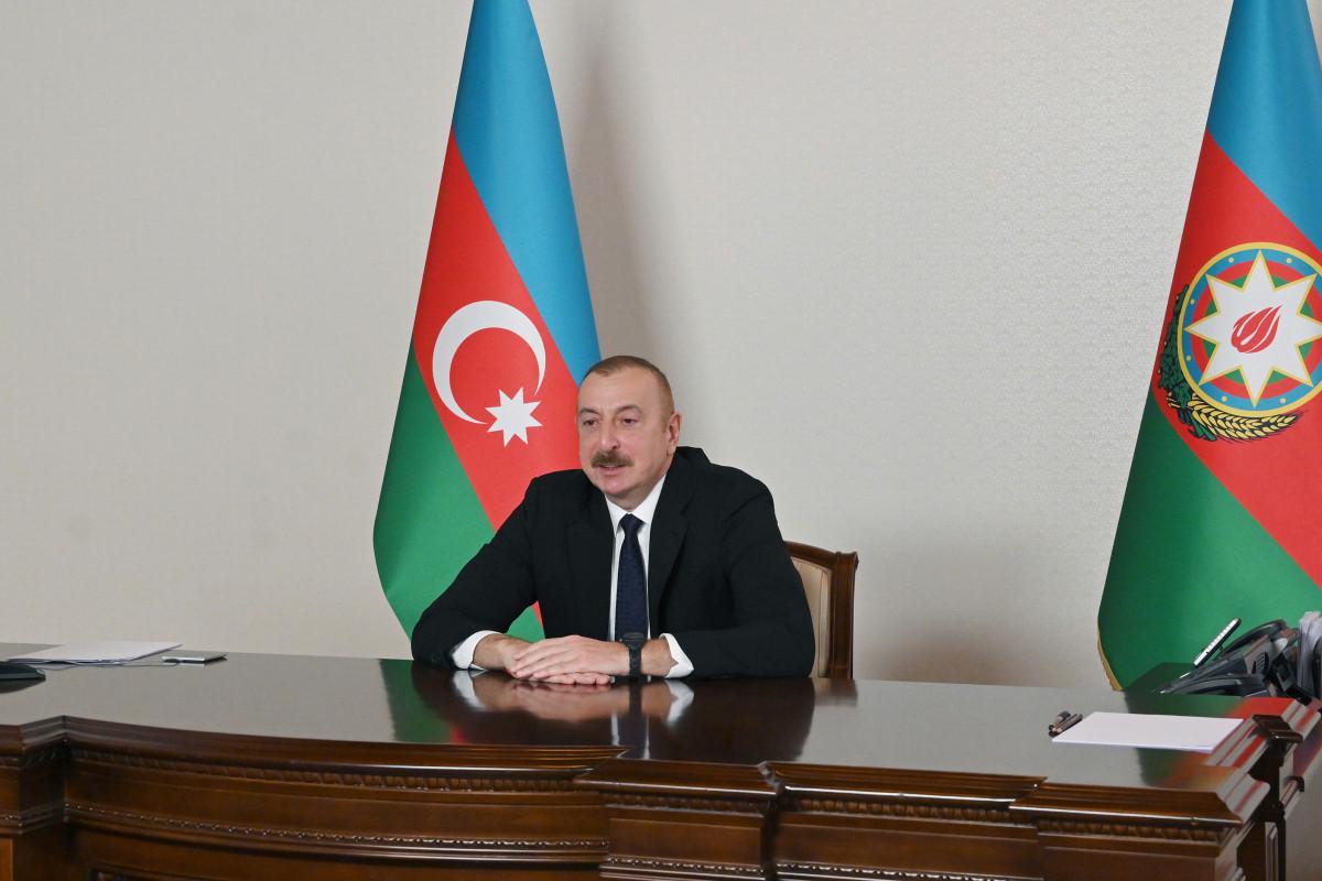 Президент: Международная общественность должна заставить Армению передать Азербайджану минные карты всех освобожденных территорий