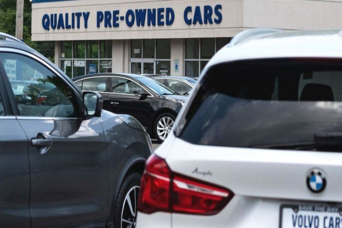 Used cars and food push US prices higher