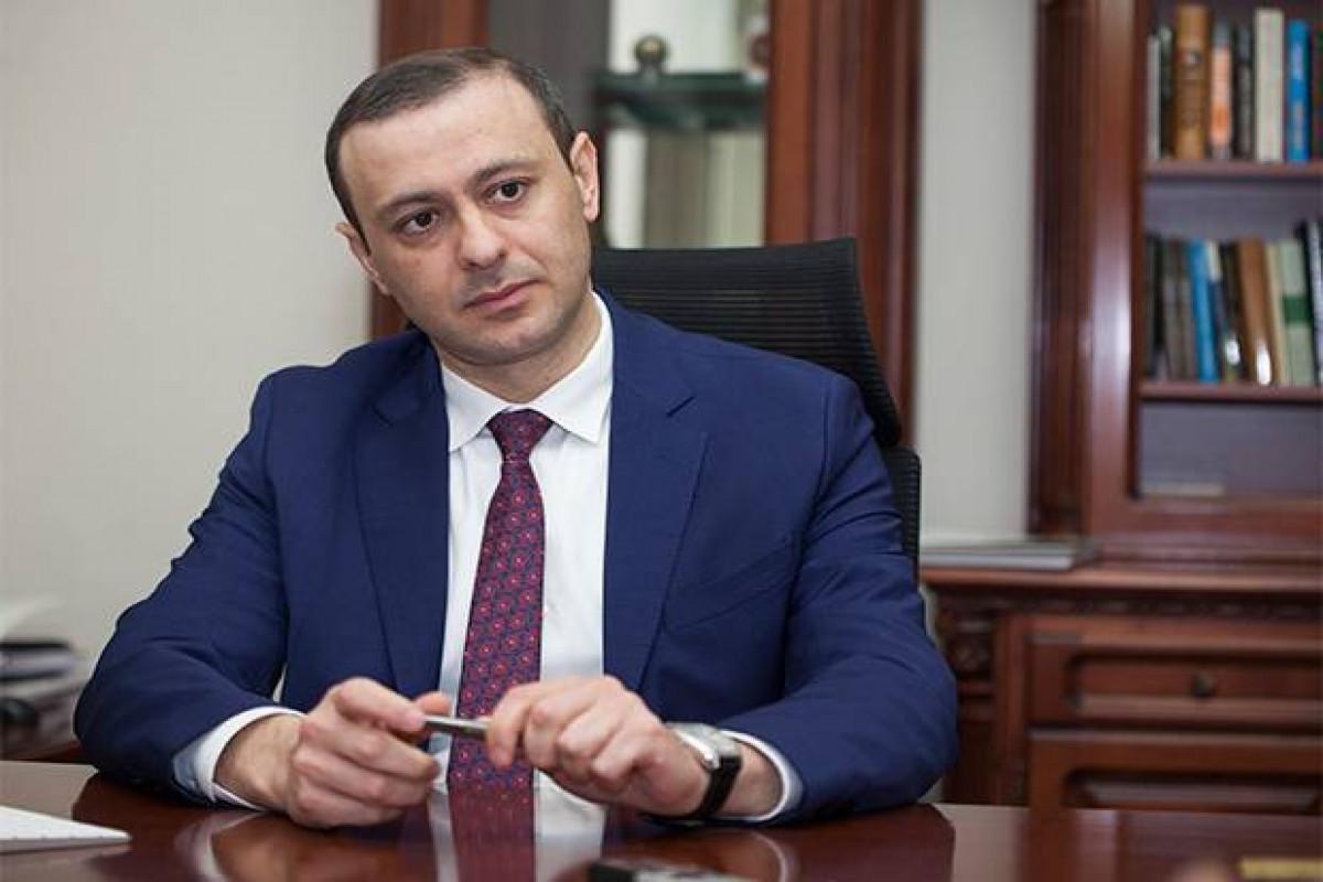 KİV: Ermənistan Təhlükəsizlik Şurasının katibi xarici işlər naziri təyin ediləcək