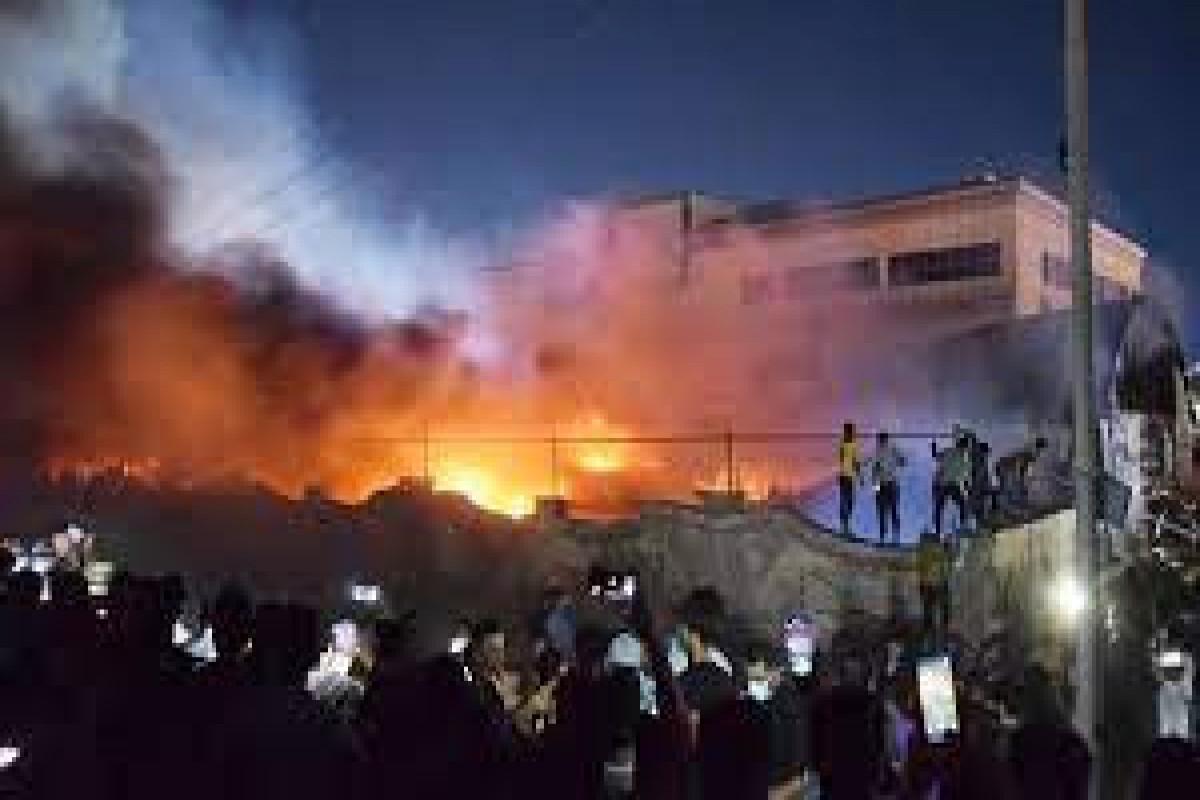 Число жертв пожара в больнице для пациентов с коронавирусом в Ираке достигло 124