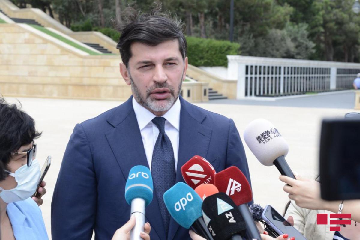 """Kaladze: """"Bakı və Tbilisinin qardaşlaşması haqda memorandum xalqlarımızın marağına cavab verir"""""""