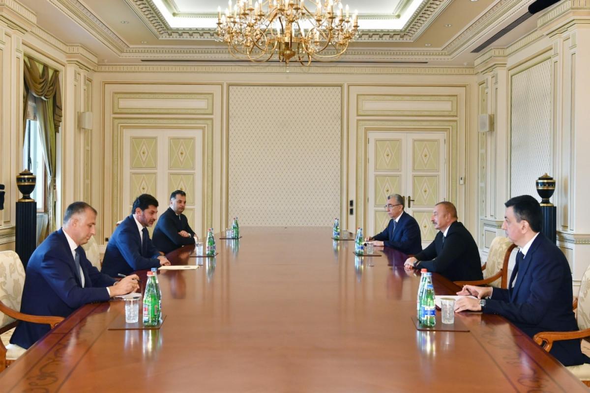 President Ilham Aliyev received mayor of Tbilisi -UPDATED