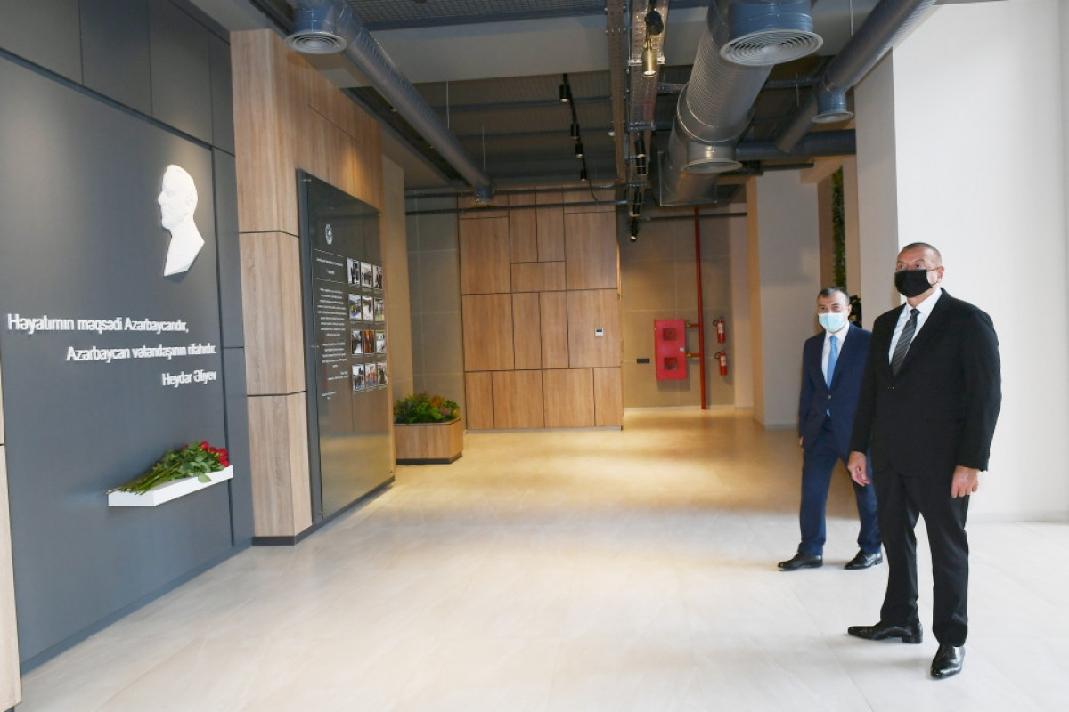 President Ilham Aliyev attended inauguration of DOST center in Absheron