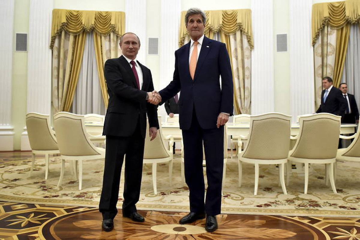 Russian President, U.S. envoy Kerry discussed climate change in phone call, Kremlin says