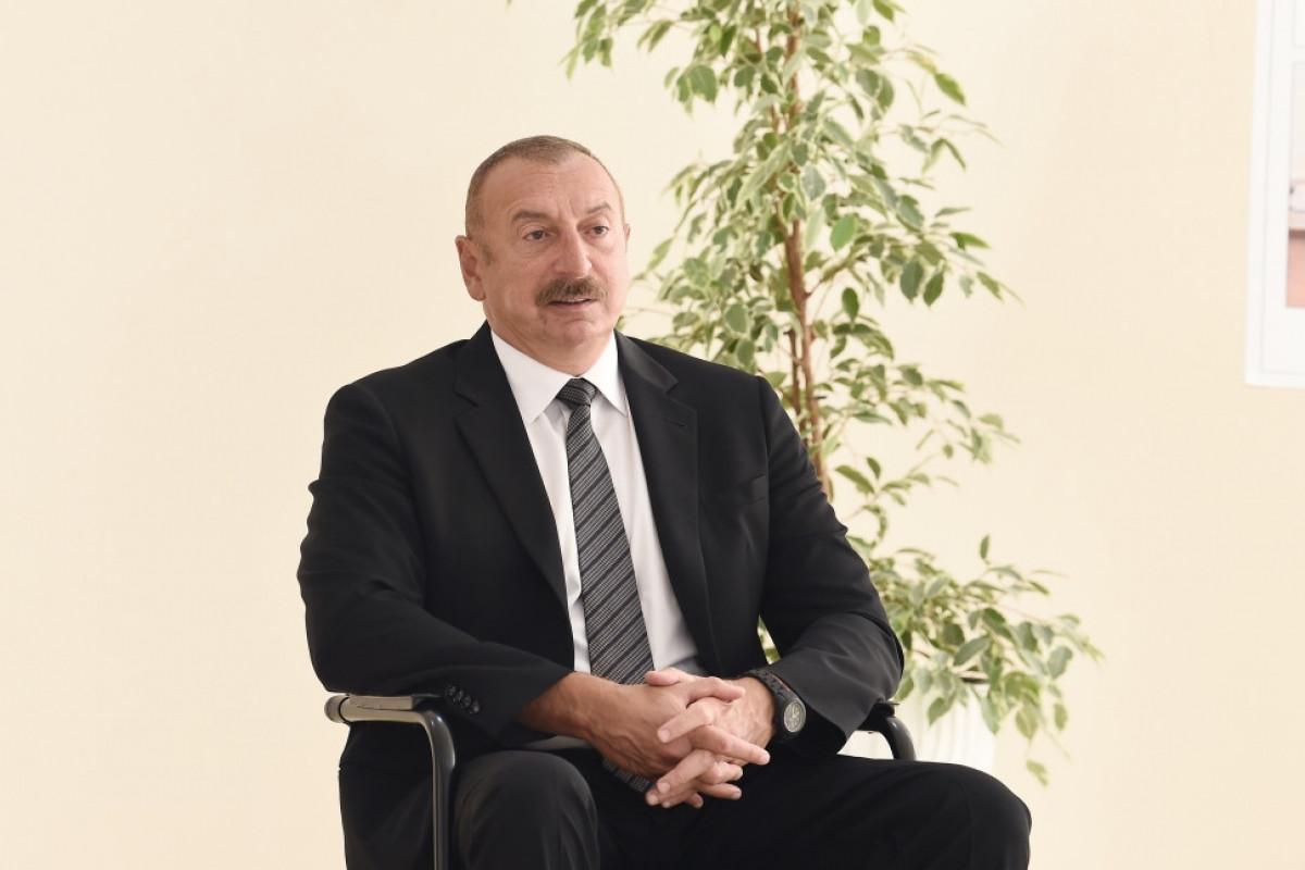 """Azərbaycan Prezidenti: """"Bizdə olan məlumata görə, ermənilərin itkiləri ən azı 7-8 mindir"""" - VİDEO  - YENİLƏNİB"""