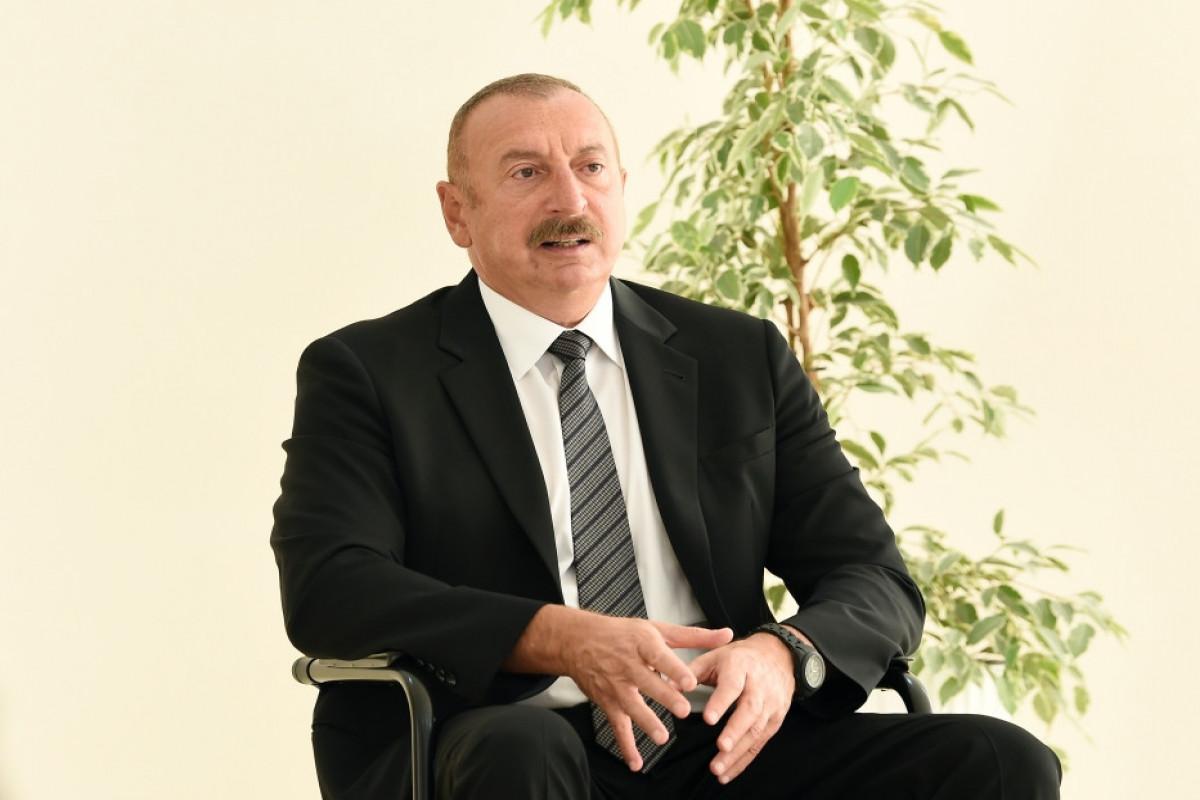 """Azərbaycan Prezidenti: """"Ermənistan sülh müqaviləsi imzalamağa hazır deyil, ancaq yaxşı fikirləşsinlər, sonra gec ola bilər"""""""