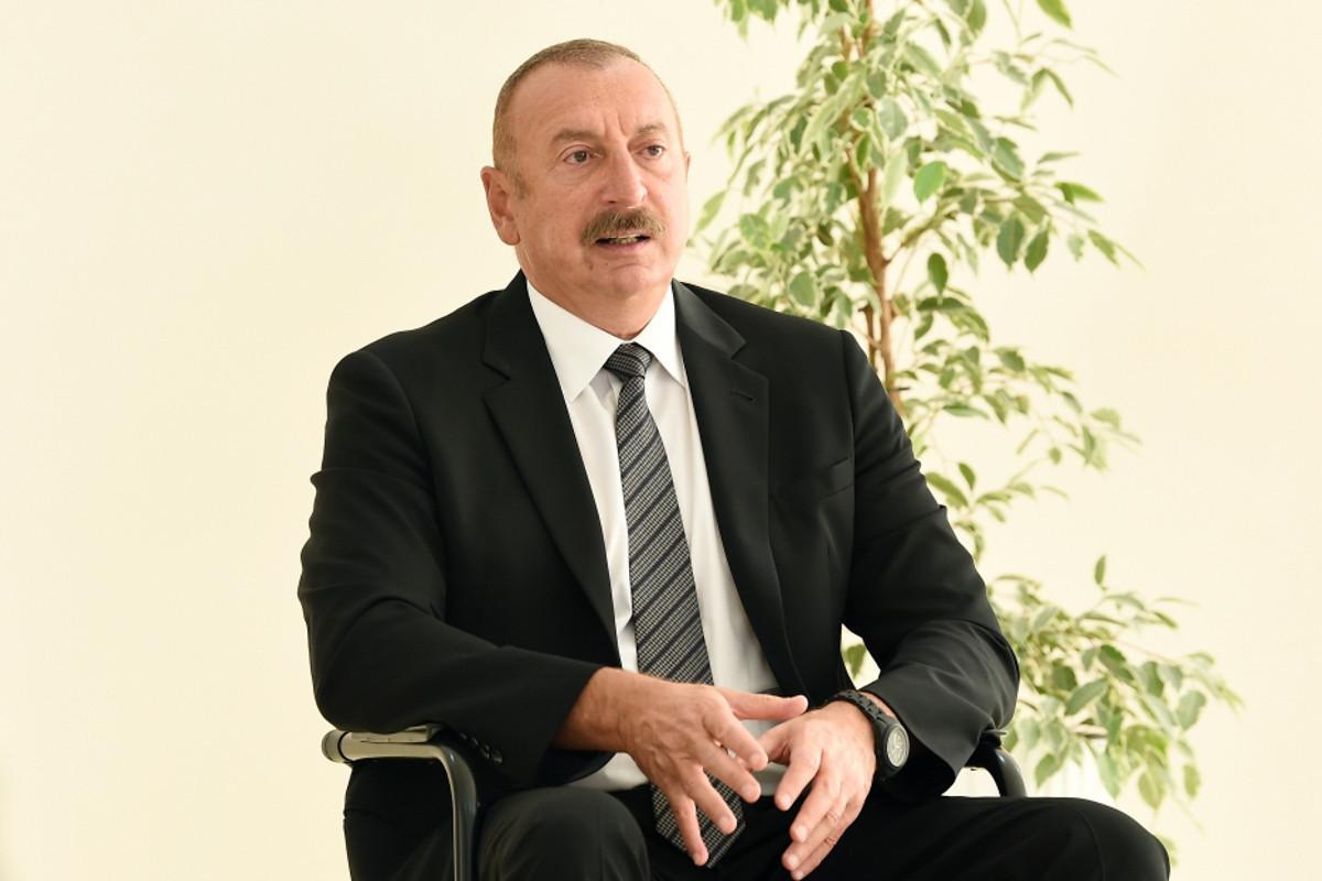 Azerbaijani President: According to the information we have Armenia