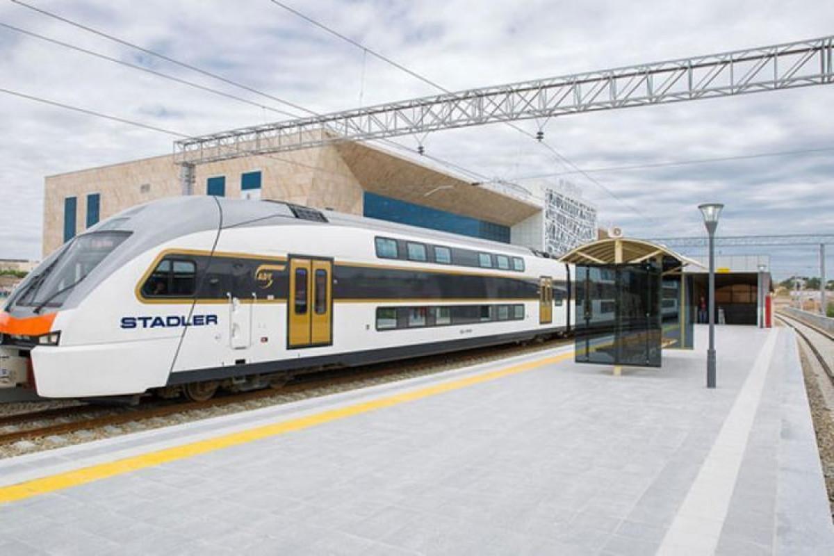 АЖД: Поезд Баку-Сумгайыт не будет работать в праздничные дни