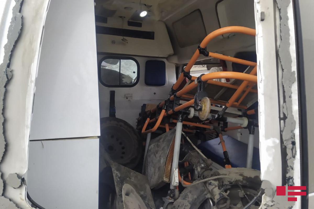 В Геранбое автомобиль скорой помощи попал в ДТП