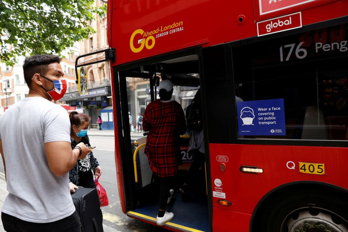 Masks to remain mandatory on London transport after national rule easing