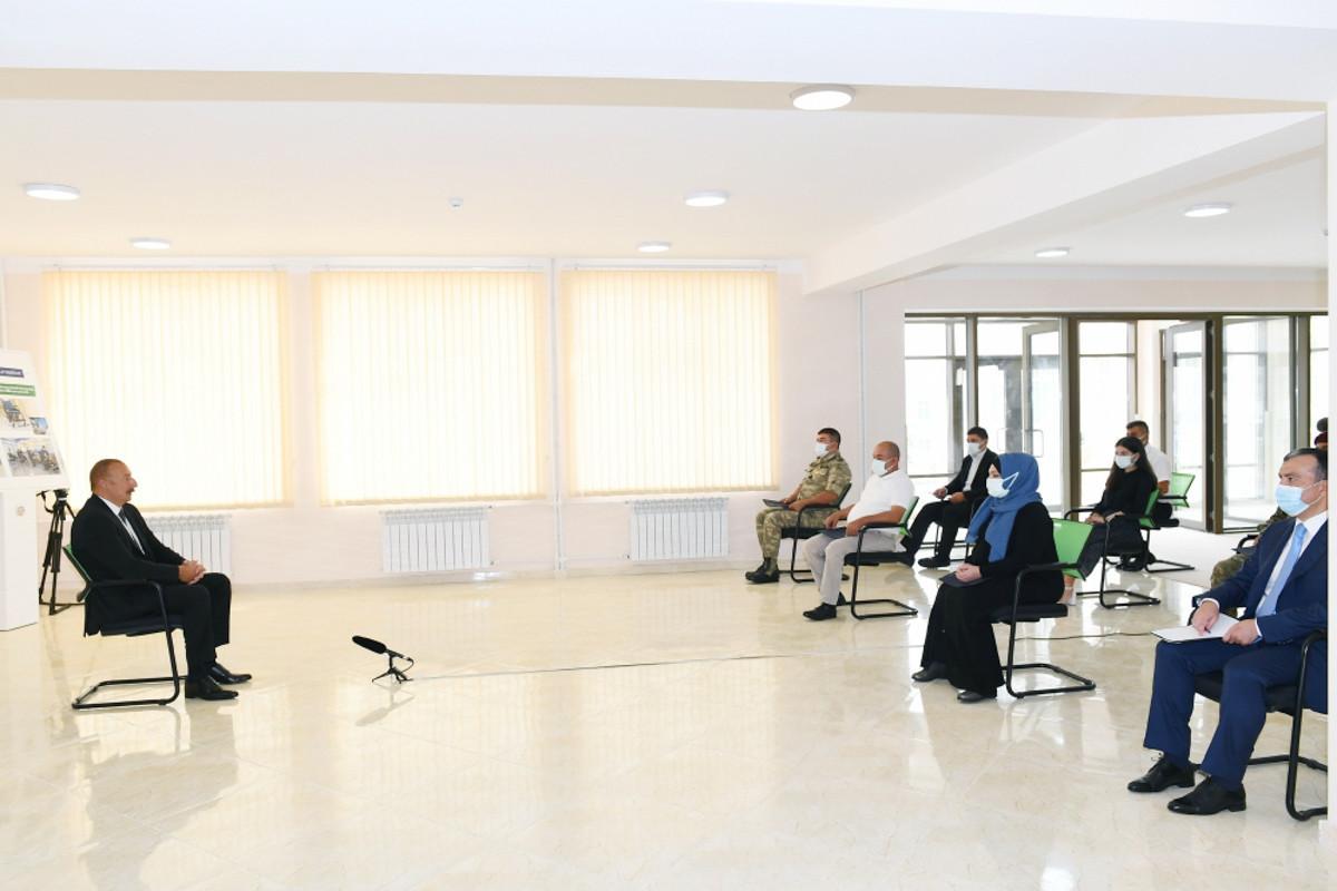 Президент Ильхам Алиев: На территории Азербайджана нет территориальной единицы под названием Нагорный Карабах, есть Карабах