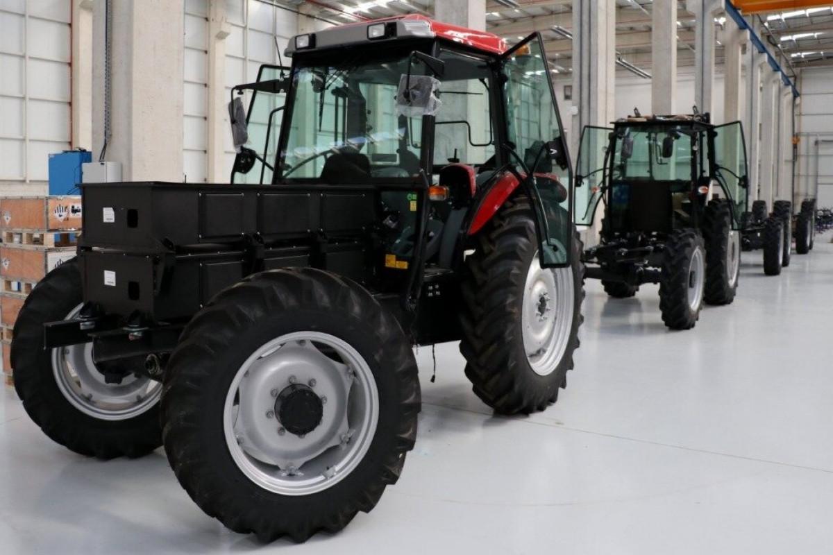 Azərbaycanda traktor istehsalı kəskin artıb