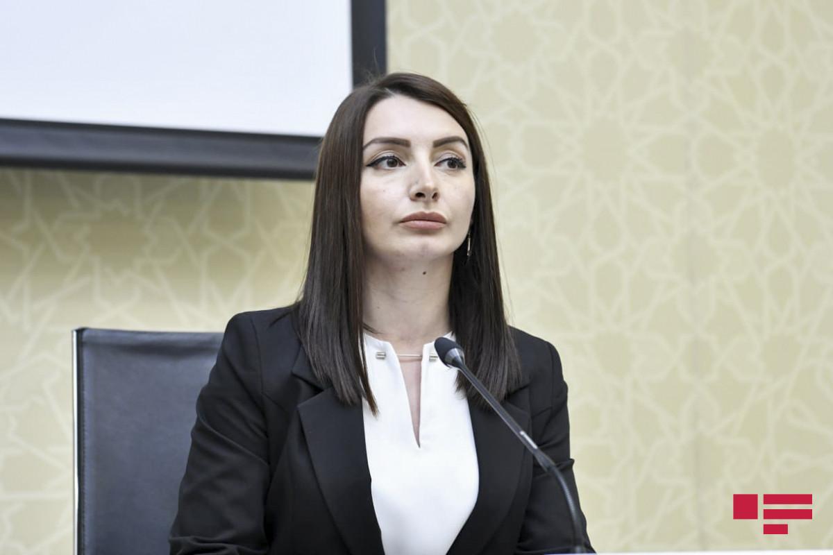 Leyla Abdullayeva Ermənistan Baş nazirinin müavininə cavab verib