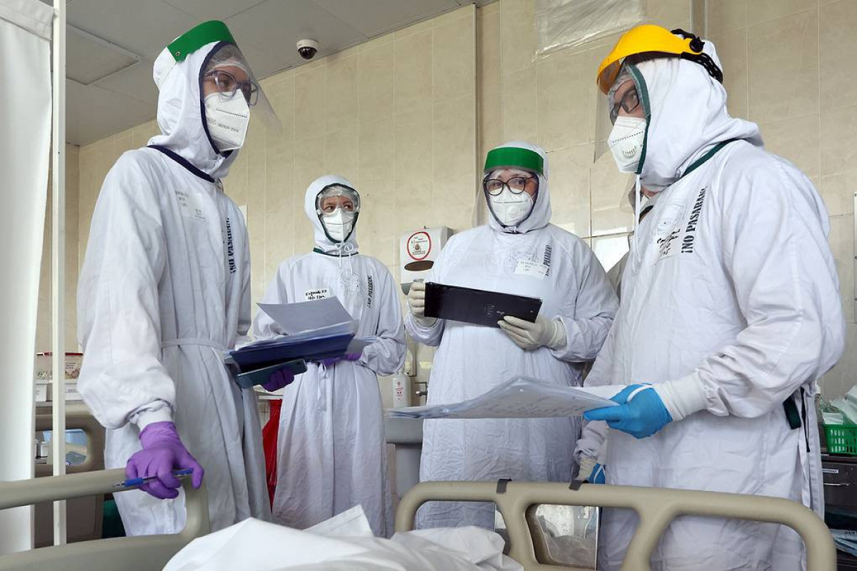 Rusiyada COVID-19-dan sutkalıq ən yüksək ölüm sayı qeydə alınıb