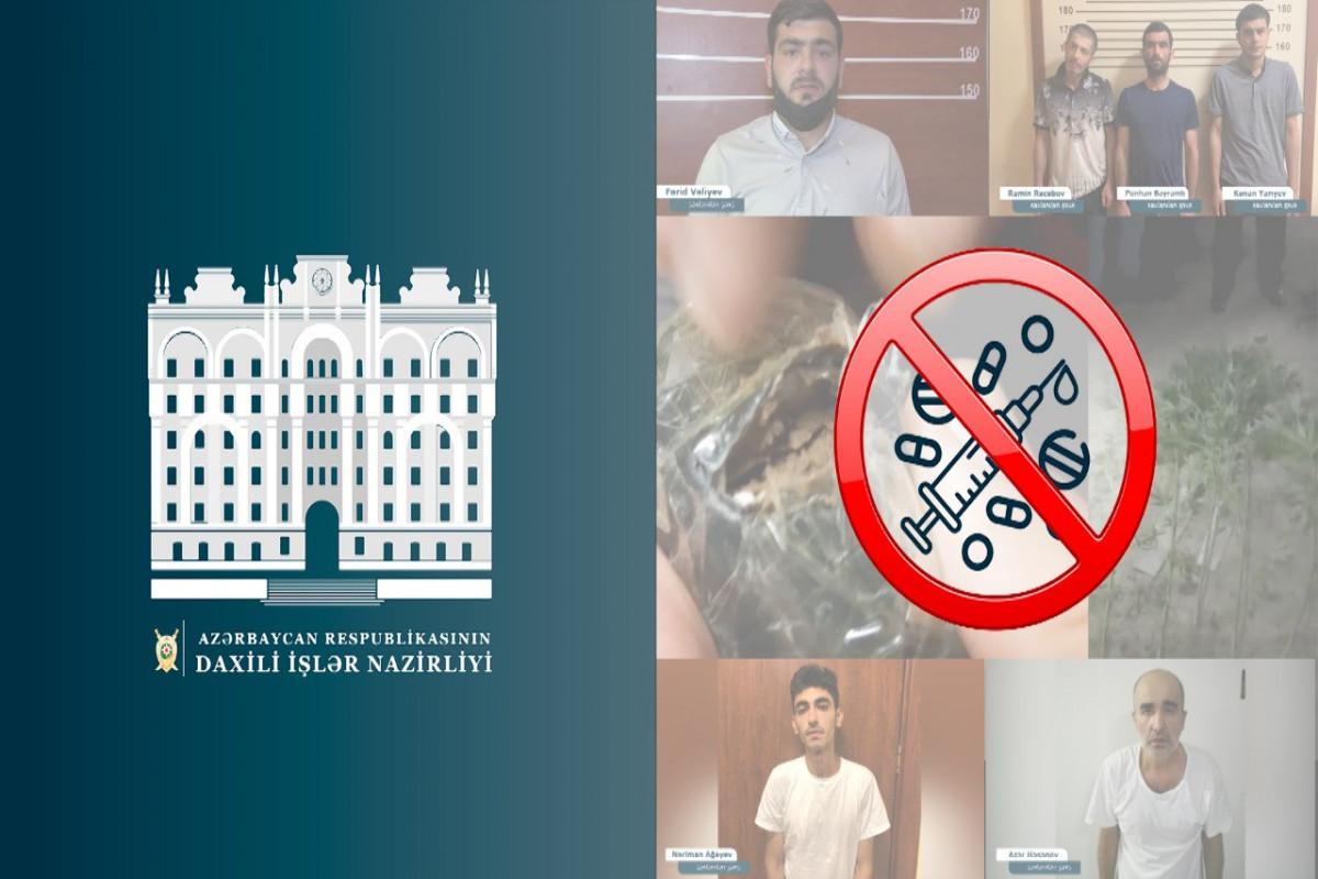 Bakı və Abşeronda narkotik satışı ilə məşğul olan daha 6 nəfər tutulub - VİDEO