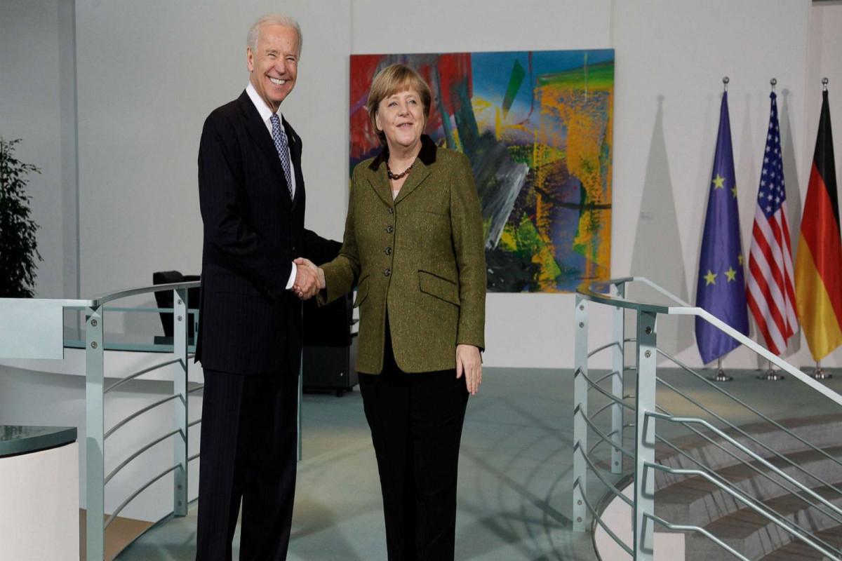 Bayden və Merkelin müzakirə edəcəyi mövzular açıqlanıb