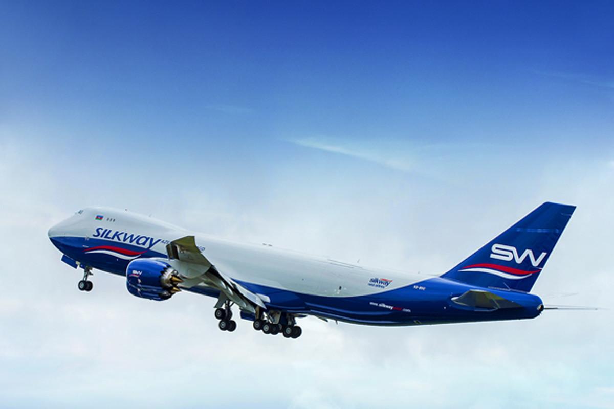 """""""Silk Way West Airlines"""" Hindistan istiqamətində yükdaşıma şəbəkəsini genişləndirir"""