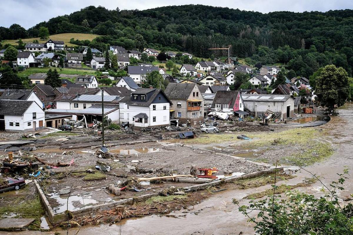 Мародеры начали грабить магазины в подтопленных районах на западе Германии
